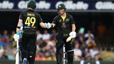Steven Smith and David Warner put up a match-winning partnership