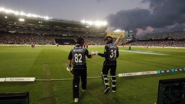 The pressure is on for Colin Munro and Martin Guptill