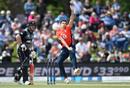Pat Brown made his England debut, New Zealand v England, First T20I, Christchurch, November 1, 2019