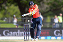 Jonny Bairstow hits through the line, New Zealand v England, First T20I, Christchurch, November 1, 2019