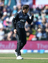 Mitchell Santner claimed two early wickets for New Zealand, New Zealand v England, First T20I, Christchurch, November 1, 2019