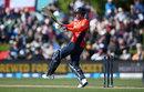 James Vince pulls through the leg side, New Zealand v England, First T20I, Christchurch, November 1, 2019