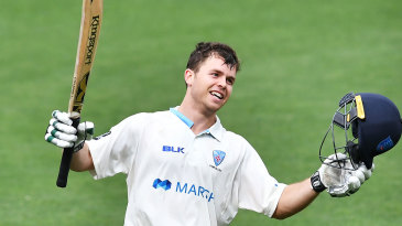 Daniel Solway hit a century on his first-class debut