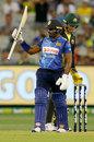 Kusal Perera played Sri Lanka's best innings of the series, Australia v Sri Lanka, 3rd T20I, Melbourne, November 1, 2019