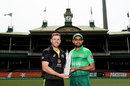 Aaron Finch and Babar Azam ahead of the T20I series, Australia v Pakistan, 1st T20I, Sydney, November 2, 2019