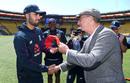 Saqib Mahmood was presented his England cap by David Lloyd, New Zealand v England, 2nd T20I, Christchurch, November 3, 2019