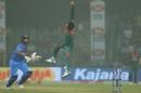 Afif Hossain takes a difficult catch, India v Bangladesh, 1st T20I, Delhi, November 3, 2019