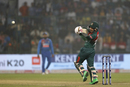 Mushfiqur Rahim puts a short ball away, India v Bangladesh, 1st T20I, Delhi, November 3, 2019