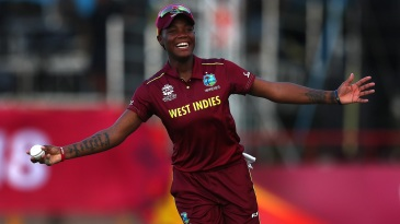 Chinelle Henry's efforts in the field helped West Indies' cause