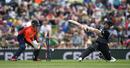 Tim Seifert was bowled aiming a reverse-swipe, New Zealand v England, 3rd T20I, Nelson, November 5, 2019
