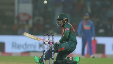Mushfiqur Rahim's innings wasn't short of innovative shots