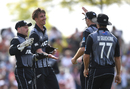 Blair Tickner claimed two important wickets, New Zealand v England, 3rd T20I, Nelson, November 5, 2019