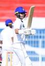 Ahmed Shehzad raises his bat after reaching his half-century, Central Punjab v Northern, Quaid-e-Azam Trophy 2019-20, 1st day, Faisalabad, November 4, 2019