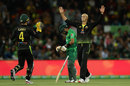Ashton Agar picked up two wickets and went at under a run-a-ball, Australia v Pakistan, 2nd T20I, Canberra, November 5, 2019