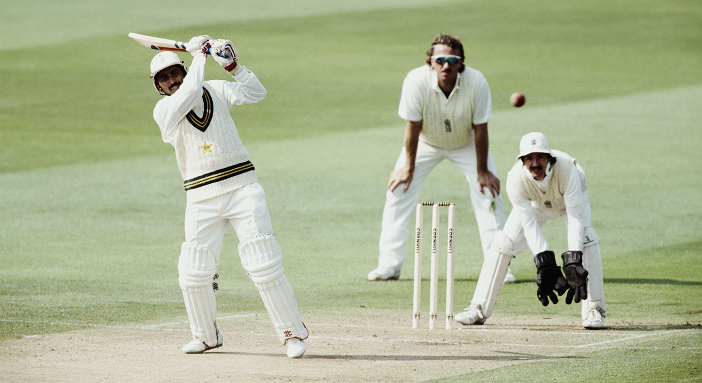 When there's trouble, who you gonna call? Miandad