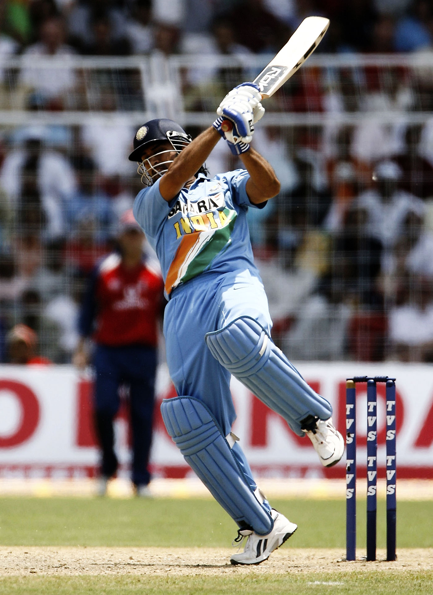 MS Dhoni: muscular mastery
