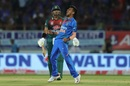 Yuzvendra Chahal roars after taking a wicket, India v Bangladesh, 2nd T20I, Rajkot, November 7, 2019