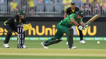 Khushdil Shah lasted 11 balls on debut