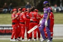 Molly Strano picked up the early wickets, Melbourne Renegades v Hobart Hurricanes, Women's Big Bash League 2019-20, Melbourne, November 10, 2019