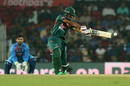 Mohammad Naim flays one through the off side, India v Bangladesh, 3rd T20I, Nagpur, November 10, 2019