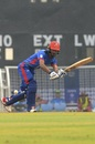 Ikram Alikhil plays one away through midwicket, Afghanistan v West Indies, 1st ODI, Lucknow, November 6, 2019