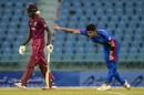 Naveen-ul-Hasan bowls, Afghanistan v West Indies, 2nd ODI, Lucknow, November 9, 2019