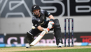 Tim Seifert gets into position to ramp the ball, New Zealand v England, 5th T20I, Auckland, November 10, 2019