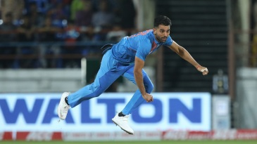 Deepak Chahar had another outstanding day in the middle