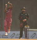 Keemo Paul in his delivery stride, Afghanistan v West Indies, 3rd ODI, Lucknow, November 11, 2019