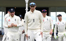 Joe Root leads his team out during the tour match between New Zealand XI and England in Whangarei, November 13, 2019