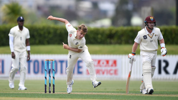 Sam Curran won selection ahead of Chris Woakes but went wicketless