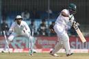 Imrul Kayes had his leg stump flattened, India v Bangladesh, 1st Test, Indore, 3rd day, November 16, 2019