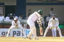 Shadman Islam is bowled, India v Bangladesh, 1st Test, Indore, 3rd day, November 16, 2019