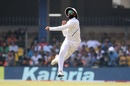 Ravindra Jadeja fires in a throw, India v Bangladesh, 1st Test, Indore, 3rd day, November 16, 2019