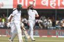 Mohammed Shami celebrates the wicket of Mushfiqur Rahim, India v Bangladesh, 1st Test, Indore, 3rd day, November 16, 2019