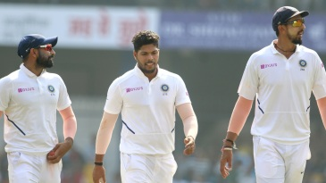 Mohammed Shami, Umesh Yadav and Ishant Sharma walk tall
