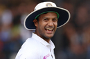 Mayank Agarwal sports a grin, India v Bangladesh, 1st Test, Indore, 3rd day, November 16, 2019