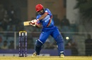 Asghar Afghan swings one across the line, Afghanistan v West Indies, 1st T20I, Lucknow, November 14, 2019