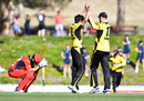 Callum Ferguson slumps to his haunches after falling just short in an outstanding chase, South Australia v Western Australia, Marsh Cup, Adelaide, November 17, 2019
