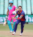 Dale Steyn fields off his own bowling, Durban Heat vs Cape Town Blitz, MSL 2019-20, Durban, November 17, 2019