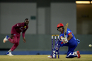Rahmanullah Gurbaz plays the fine scoop, Afghanistan v West Indies, 3rd T20I, Lucknow, November 17, 2019