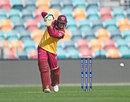 Usman Khawaja drives as his fine one-day form continued, Tasmania v Queensland, Marsh Cup, Hobart, November 18, 2019