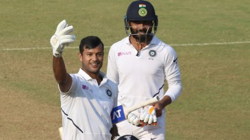 Mayank Agarwal's 243 was the fourth double-century in successive Tests by an Indian batsman