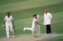 Geoff Boycott walks out to bat in his 100th Test, England v Australia, 2nd Test, Lord's, 1st day,July 2, 1981
