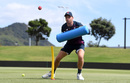 Jos Buttler takes part in an unusual training drill, Mount Maunganui, November 19, 2019