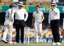 Pat Cummins got the benefit of controversial no-ball call, Australia v Pakistan, 1st Test, Brisbane, November 21, 2019