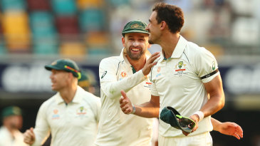 Mitchell Starc finished with four wickets