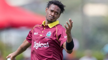 Guyana pacer Ronsford Beaton has been suspended from bowling after his action was deemed illegal