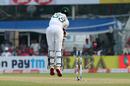 Ebadot Hossain is cleaned up by an Ishant Sharma legcutter, India v Bangladesh, 2nd Test, 1st day, Kolkata, November 22, 2019