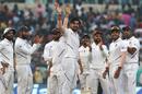 Ishant Sharma celebrates his 10th five-wicket haul in Test cricket, India v Bangladesh, 2nd Test, 1st day, Kolkata, November 22, 2019